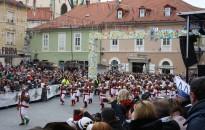 A város vezetősége is ellátogatott a ptuji karneválra