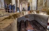 Régészeti leletek kerültek elő a türjei templomban
