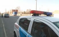 Rendőrségi ellenőrzés Nagykanizsán