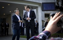 Március 15. - Orbán Viktor Belgrádba utazott