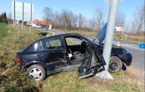 Három sérült: Seat, Opel ütközés a régi hetesen