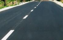 Nő a forgalombiztonság a megújult Zalaapáti-Zalabér összekötő úton