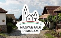 Megnyíltak a Magyar falu program első pályázatai