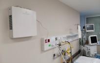 Már üzemelnek a légfertőtlenítő berendezések a Kanizsai Dorottya Kórház intenzív osztályán