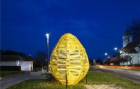 Kéthelyen az idén nem díszítettek tojásfákat