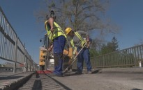 Folytatódik a Principális-híd felújítása
