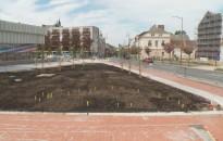 Jól haladnak a felújítási munkálatok az Eötvös téren