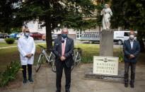 25 darab kerékpárt kapott a veszélyhelyzet végéig a Kanizsai Dorottya Kórház
