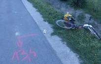 A sofőr figyelmetlensége miatt súlyos sérülést szenvedett egy kerékpáros