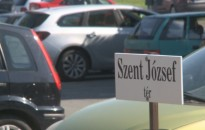 Lezárták a Szent József téri és Pannon Egyetem Nagykanizsai Kampusz előtti parkolót