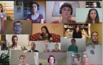 Virtuális karanténkórus találkozóra hívták a Farkas Ferenc Énekegyüttest