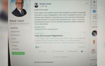Balogh László polgármester közleménye a facebookon