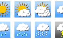 Kezdetben sok eső, majd sok napsütés lesz a hétvégén