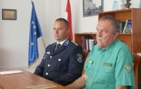 Gyurgyalagok megmentőit jutalmazta a megyei rendőrkaptány