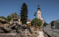 Megújul és megszépül a Deák tér is Nagykanizsán