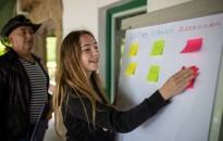 Kortárs segítők képzése Kistolmácson a nyári táborban