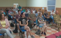 Önkéntes területvédelmi tartalékosok felkészítése Nagykanizsán