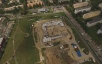 Ütemterv szerint halad a Kanizsa Aréna építése