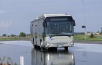 Gázüzemű autóbuszt tesztel a Volánbusz Zalaegerszegen