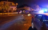 Segédmotoros kerékpárral ütközött egy Ford Kiskanizsán