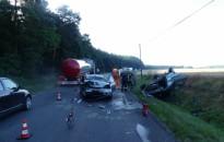 Elaludt a lengyel sofőr a 74-es főúton