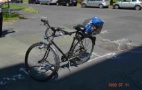 Két bicikliző kanizsai férfi is súlyos balesetet szenvedett tegnap