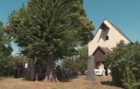 Búcsúi misét tartottak szombaton Látóhegyen