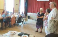 Gulyáspartival ünnepelték a Vasutas Nyugdíjas Klub 44. évfordulóját
