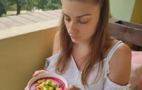 GasztroKanizsa: Vörösbársony céklakrémleves és Közel-keleti fűszerezésű zöldségtál