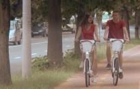 A kerékpárosok paradicsoma lehet a Csónakázó-tó