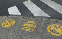 Piktogramok a gyalogosok biztonságáért
