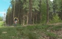 Hegyikerékpáros XCO kanizsai nagydíjat rendeznek a Csónakázó tónál