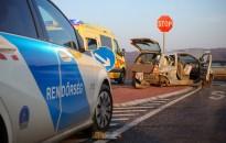 Három autó ütközött a 61-es út Kanizsát elkerülő szakaszán