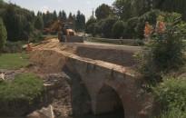 Jól halad a zalaszentjakabi híd helyreállítása