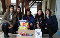 GE-s lányok jártak a kanizsai állatotthonban