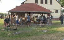 Főzőversennyel egybekötött futballtorna volt Petriventén