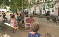 Közel egy órás koncertet adott a Kiflihajó Nagykanizsán