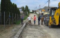 Az ipari parkhoz kapcsolódó utakat újítottak fel Keszthelyen