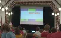 Hazai pályán lett bronzérmes Szente Péter az informatikai diákolimpián