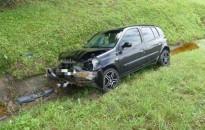 Árokba hajtott egy autó, két gyermek megsérült