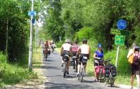 Dinamikusan nőtt a kerékpározók száma a nyári szezonban a nagy tavak körül