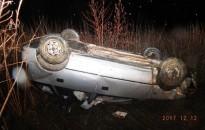 Súlyos sérülést szenvedett az autójával felboruló kanizsai férfi