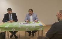 Hadházy Ákos tartott lakossági fórumot tegnap Kanizsán