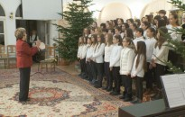 Karácsonyi koncertet adtak a hevesisek a Felsőtemplomban