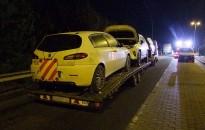 Körözött volt a Toyota RAV4, a kanizsai rendőrök letessékelték a román férfi tréleréről