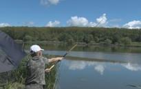 Horgászással telt a vasárnap a Csó-tón