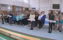 A torna diákolimpia megyei fordulóját tartották meg a Hevesi-iskolában