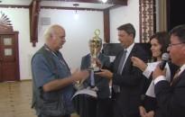 Az eddigi legerősebb mezőny - átadták a szenior sakkbajnokság díjait