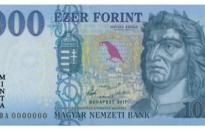 Márciustól kerülnek forgalomba az új 1000 forintos bankjegyek
