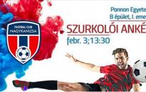 Szurkolói ankét február 3-án